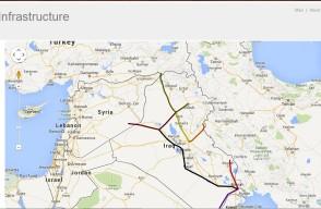 خارطة العراق النفطية